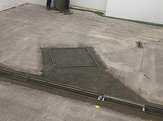 Industrial flooring specialists UK. Resin flooring. Trust Construction. Resin floor begin.