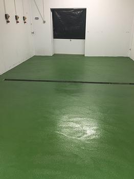 Industrial flooring specialists UK. Resin flooring. Trust Construction. Resin floor complete.